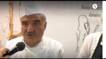Peppe Zullo e Pasta di legumi Felicia a Identità Golose 2018 (Vdeo)