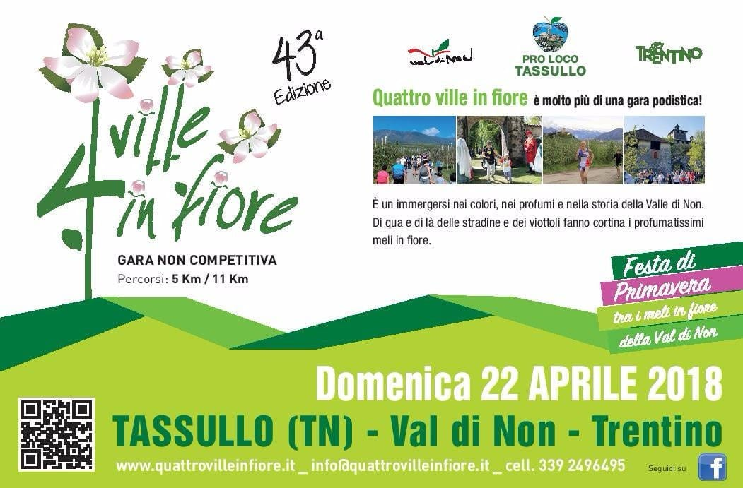 """La primavera ha inizio in Val di Non con la """"Quattro ville in fiore"""" di Tassullo"""