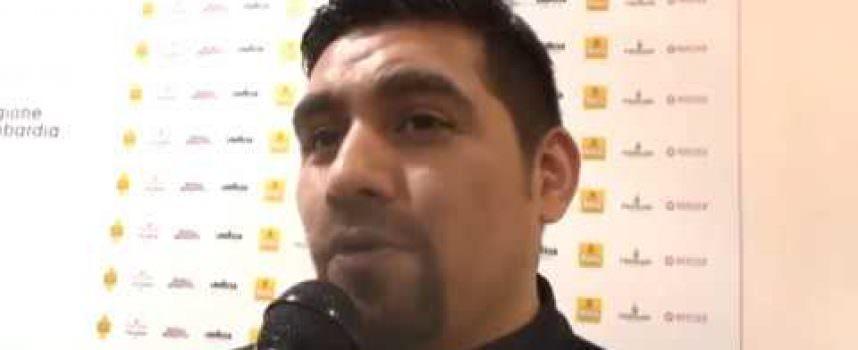 Roberto Sihuay, chef peruviano, di Barcellona,  a Identità Golose 2018 (Video)