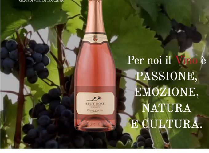 Le bollicine di Tenute Carpineto nella Toscana enoica