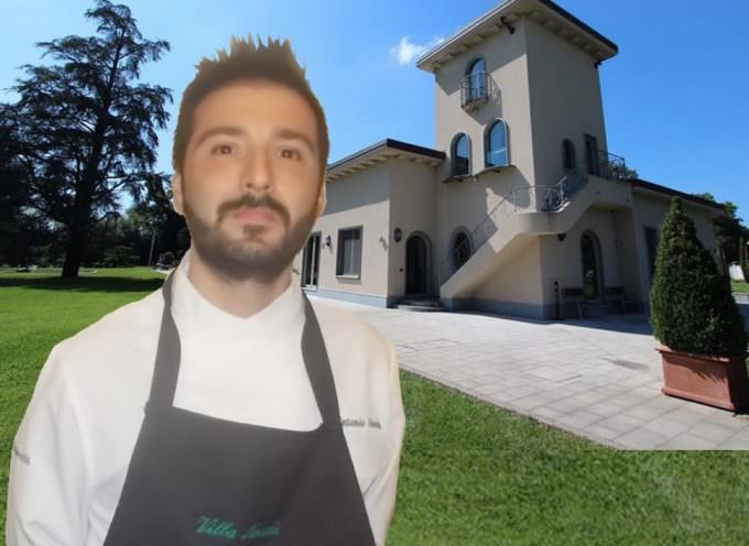 """Roberta Schira, """"Di Gusto"""", nel primo do-room italiano, Presso, con Antonio Danise chef  di Villa Necchi alla Portalupa"""