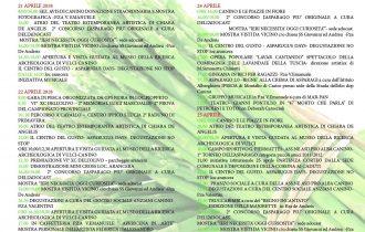 L'asparago verde protagonista a Canino per 5 giorni di festa