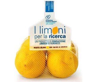I limoni di Fondazione Veronesi distribuiti in tutta Italia da Citrus – l'Orto Italiano