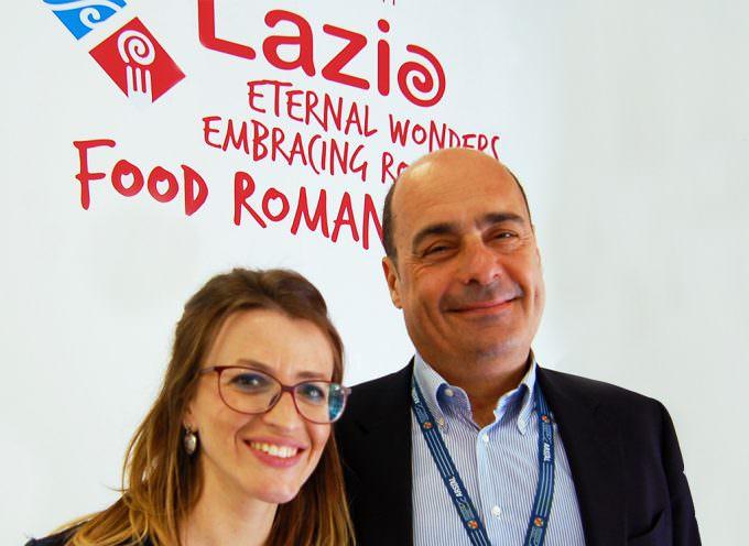 Nicola Zingaretti, presidente Regione Lazio, al Vinitaly 2018, a sostegno delle produzioni di qualità