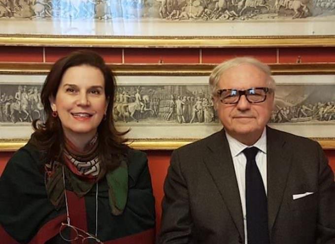 Donne e Futuro, Progetto di Cristina Rossello – Manifestazione alla Borsa di Milano con  Jill Morris, Ambasciatore del Regno Unito in Italia