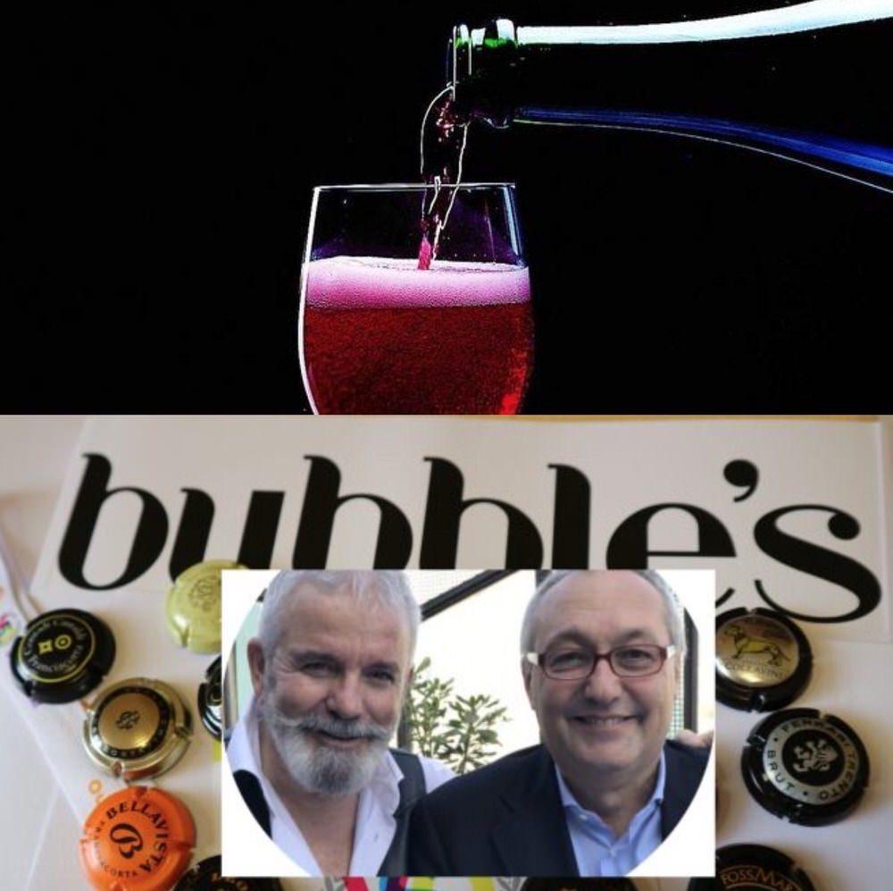 Vinitaly 2018: mariage Bubble's Italia e Lambrusco Spumante Metodo Tradizionale