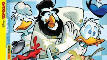 Paperacciuolo: chef Antonino Cannavacciuolo va su Topolino