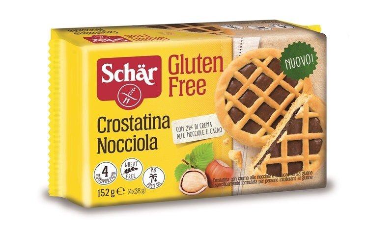 La nuova  Crostatina Nocciola  senza glutine del Dr. Schar