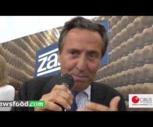Attilio Zanetti a Cibus: produciamo formaggi con energia green al 100% (Video)