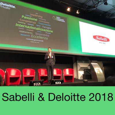 Sabelli: premio internazionale Deloitte 'Best managedcompanies'