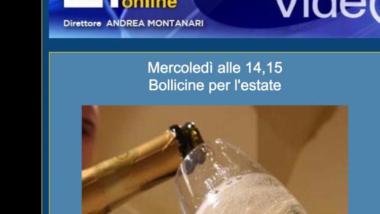 Le bollicine in Radio Chat Rai Uno – Giampietro Comolli risponde alle domande degli ascoltatori