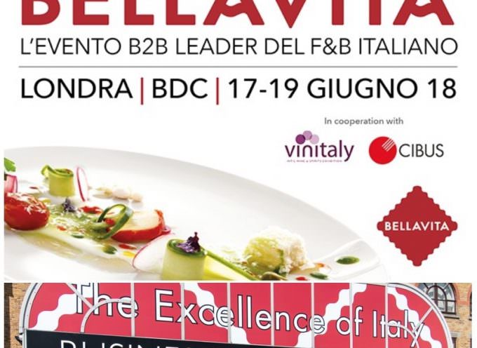 Bellavita Londra 2018: Eccellenze Made in Italy nella City dal 17 al 19 giugno