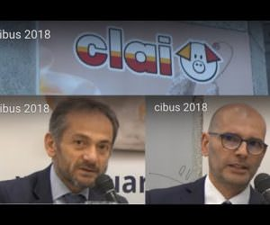 Clai salumi italiani a Cibus 2018: Pietro D'Angelo e Gianfranco Delfini (Video)