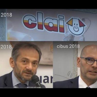 Clai salumi italiani a Cibus 2018: Pietro D'Angelo e Gianfranco Delfini (Video)
