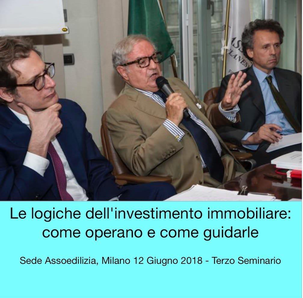 ASSOEDILIZIA: COME LE LOGICHE IMMOBILIARI INFLUISCONO SULLA CITTA'