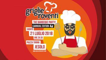 Griglie Roventi 2018: sopra la griglia, la maschera