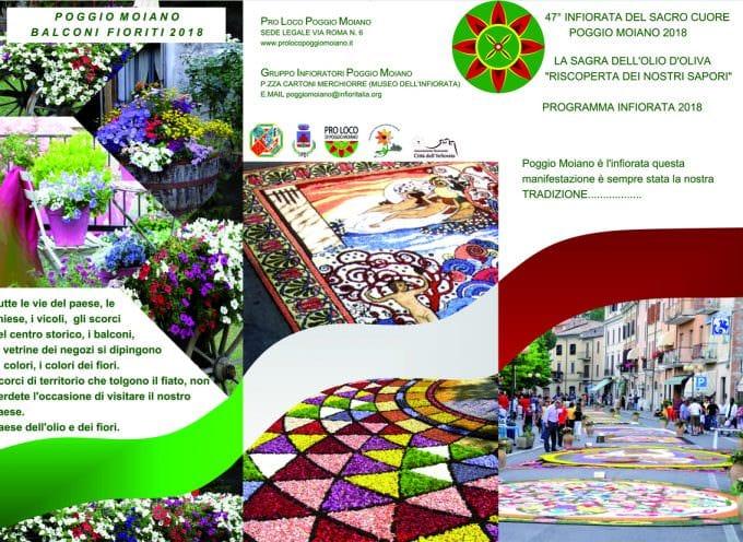 Poggio Moiano si trasforma in una tela d'artista dal 28 giugno al 1 luglio