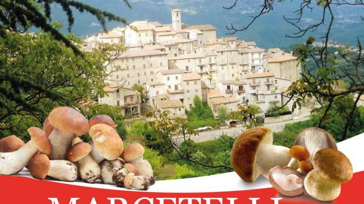 La Festa del fungo porcino anima il borgo laziale di Marcetelli l'8 luglio