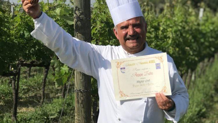 Premio Quality Awards ASEL a Peppe Zullo, miglior chef