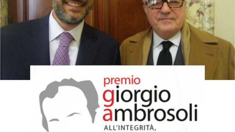 Premio Giorgio Ambrosoli alla Legalità