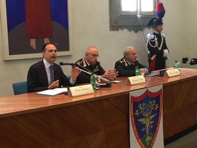 Ambiente, accordo Coldiretti ed Arma dei Carabinieri per tutela dell'agroalimentare