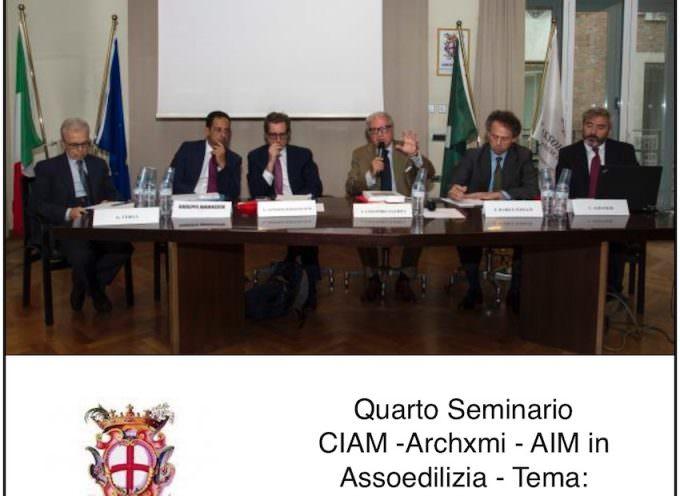 Quarto Seminario CIAM -Archxmi – AIM in Assoedilizia