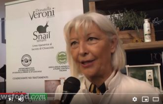 Le chiocciole di Donatella Veroni: dermo-cosmetici di nuova generazione (Video)
