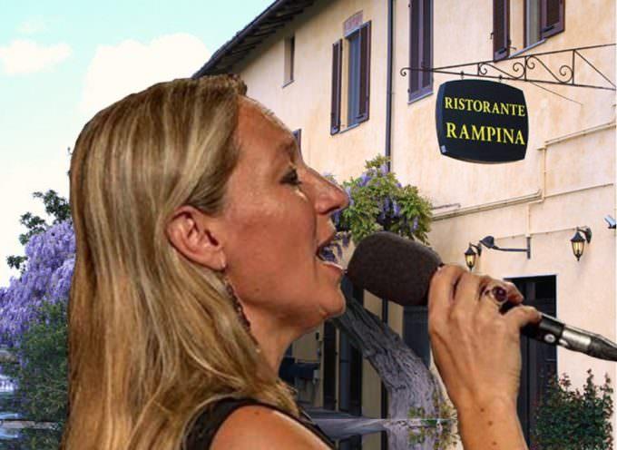 Antica Osteria La Rampina: cena e jazz con Francesca Ajmar e Alberto Graziani