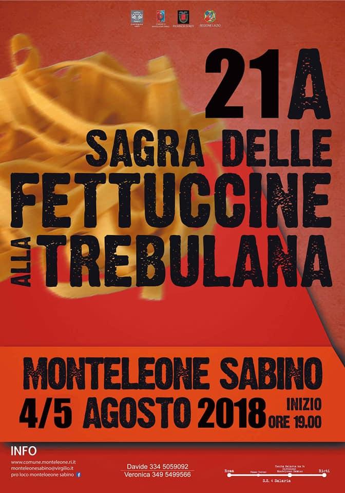 A Monteleone Sabino si gusta un'antica ricetta: le fettuccine alla trebulana,