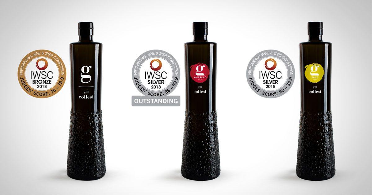 IWSC, medaglie per Gin Collesi