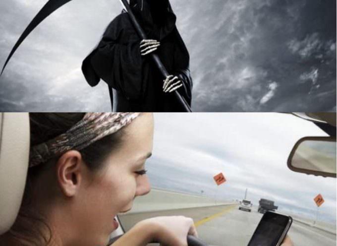 La morte arriva quando meno te la aspetti: per una disattenzione al volante, un sms…