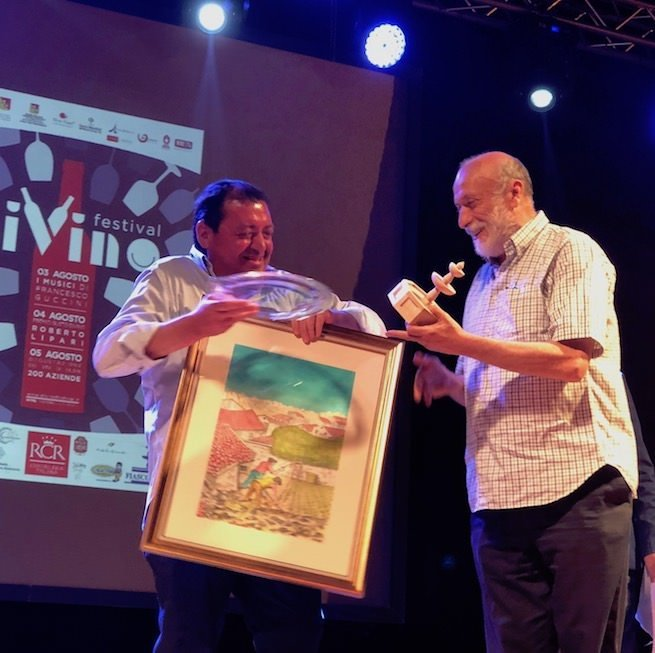 Castelbuono, Divino Festival: Premio 'Don Mario Fiasconaro' a Carlin Petrini e Davide Oldani