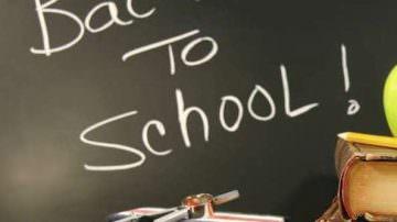 Iniziano le scuole: una torta di buon augurio per Federica