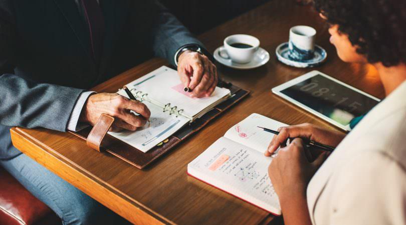 4-ponetevi obiettivi business lunch
