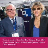 Giulia Bongiorno a Cernobbio: semplificare codici appalti ed edilizia
