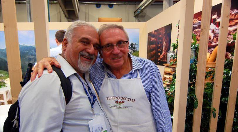 Beppino Ocelli con Giuseppe Danielli