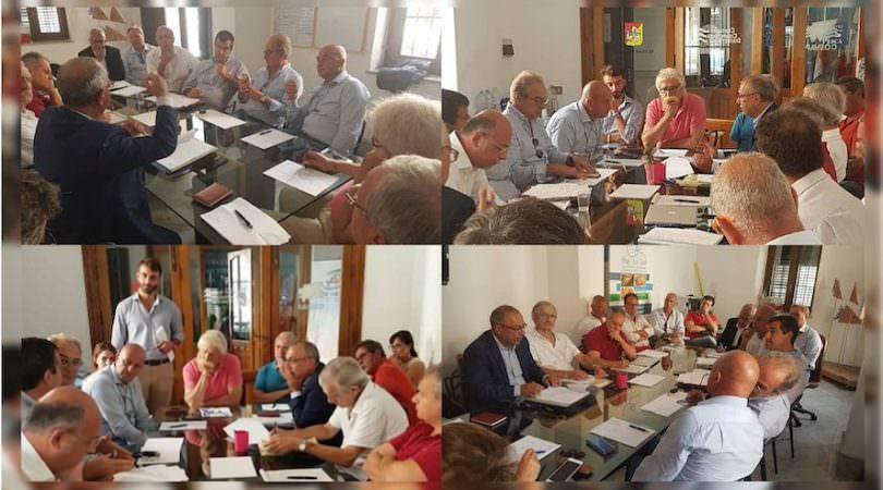 BlueSeaLand2018_riunioneoperativa 3 settembre 2018