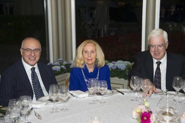 Il Prefetto di Como Ignazio Coccia, Giovanna Colombo Clerici, Camillo Paveri Fontana