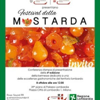 Autunno in Lombardia, torna il Festival della Mostarda