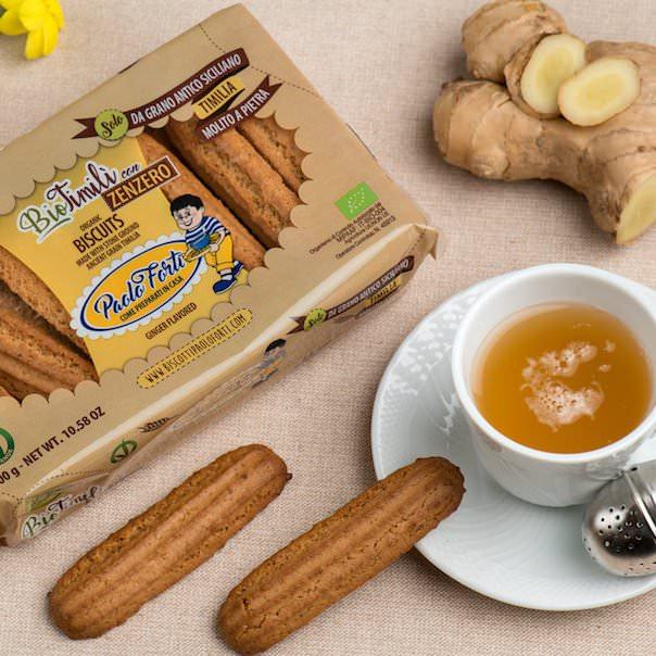 Paolo Forti, biscotti allo zenzero