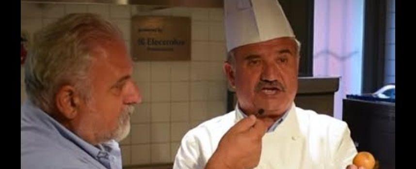 Peppe Zullo cucina la pasta di legumi Felicia a Terra Madre Salone del Gusto 2018 (Video)