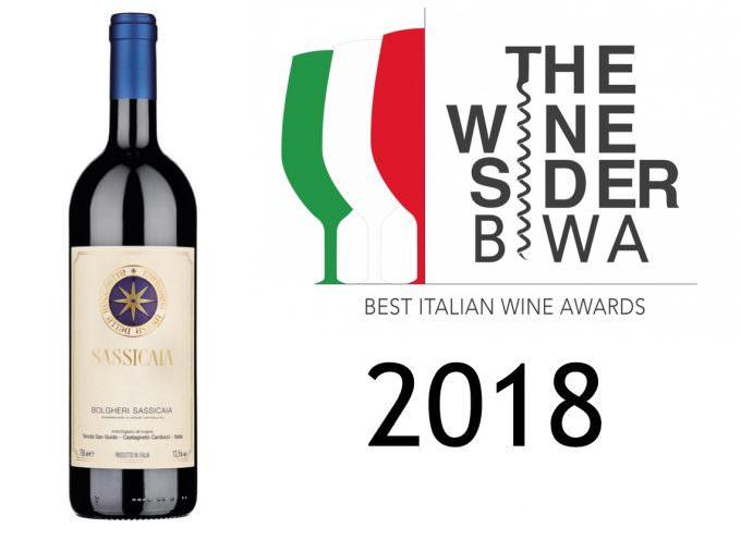BIWA 2018: vince Sassicaia Tenuta san Guido