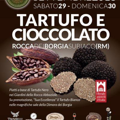 """Delizie a Subiaco con """"Tartufo e cioccolato"""""""