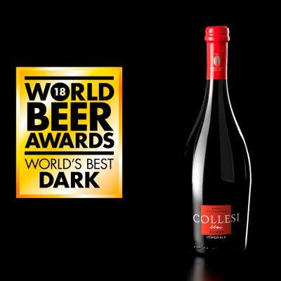Birra, Collesi è la migliore al mondo: oro alla finale dei World Beer Awards