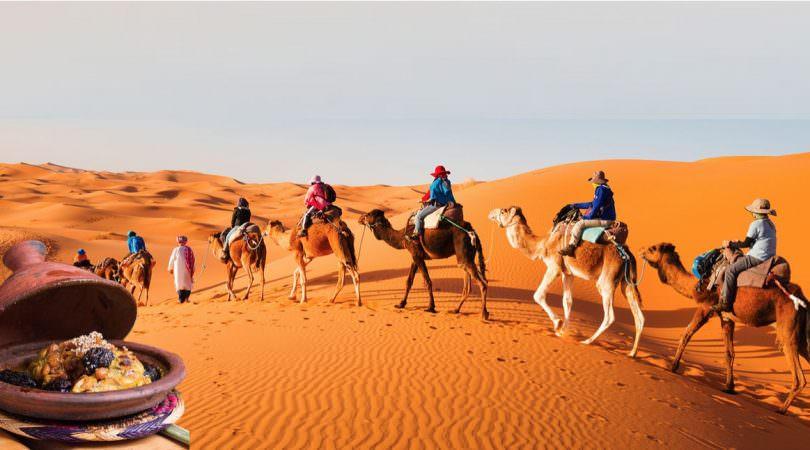 tajine nel deserto