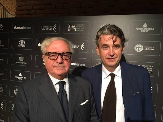 Achille Colombo Clerici con Walter Mariotti