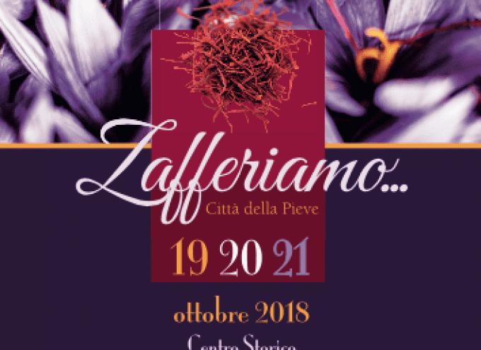 """Città della Pieve in festa con """"Zafferiamo"""""""