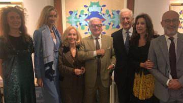 Giacomo Balla – Vernissage della Mostra alla Bottegantica di via Manzoni