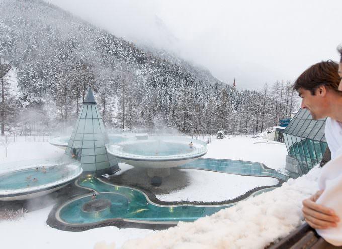 Neve, sci ed acque termali. L'Aqua Dome di Solden