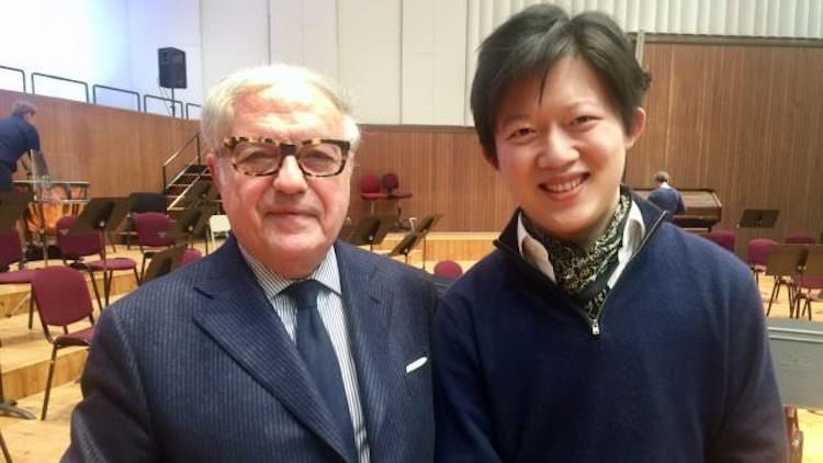 Antonio Chen Guang, concerto in memoria di Antonio Mormone